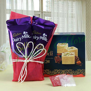 Love For Sweets - Rakhi Gifts for Sister Onilne