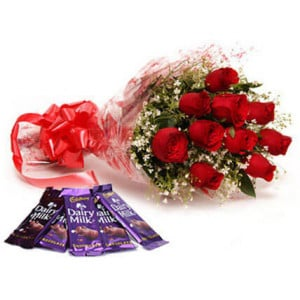 Love Mania - Send Diwali Flowers Online