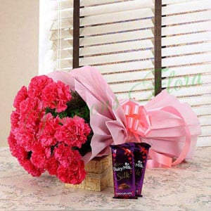 Magnificent Combo - Send Diwali Flowers Online