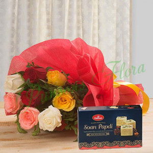 Mixed Beauty Delicacy - Send Birthday Flowers To India