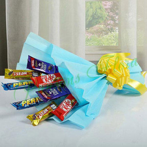 Mixed Chocolates Bouquet - Mothers Day Gifts Online