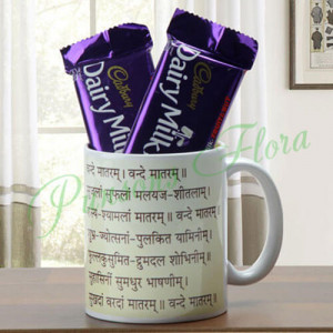 Patriotism In Heart Combo - Mugs