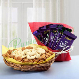 Seeking Love - Send Diwali Sweets & Dry-fruits Online