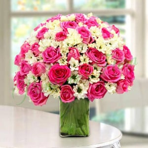 Special Delight - Glass Vase Arrangements