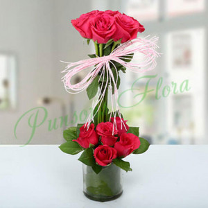 Splendid Rose Arrangement - Birthday Gifts for Her