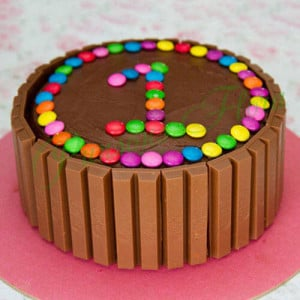 Supreme Kit Kat Cake - Send Chocolate Truffle Cakes Online