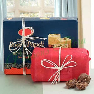 Sweetness Of Bhaidooj - Send Diwali Sweets & Dry-fruits Online