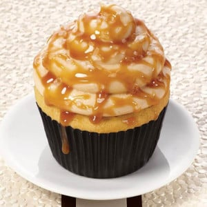 Butterscotch Lovely 6 Cup Cakes - Send Cup Cakes Online