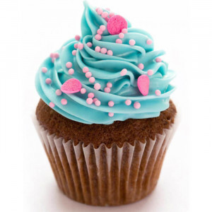 Multi Flavor 6 Cup Cakes - Send Party Cakes Online