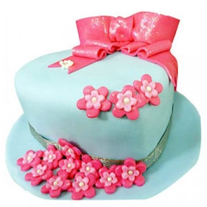 Fondant Hat Cake - Birthday Cake Online Delivery - Online Cake Delivery in India