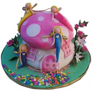 Little Angels Cake - Birthday Cake Online Delivery - Online Cake Delivery in India