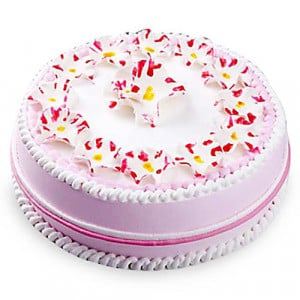 Daisy Christening Cake 1kg - Birthday Cake Online Delivery - Online Cake Delivery in India