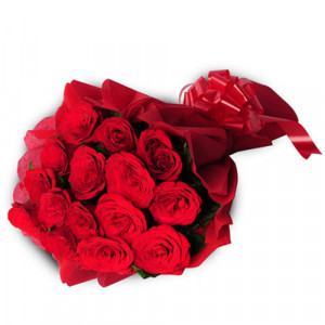 15 Red Roses India - Kiss Day Gifts Online