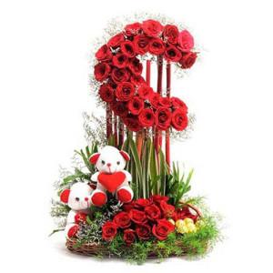 Moon Love - Send Best Flowers Arrangement Online