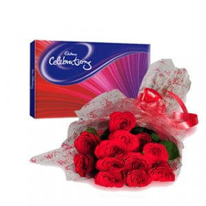 Roses Celebration - Propose Day Gifts Online