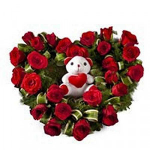 Radiant Rage - Online Flower Delivery in Noida