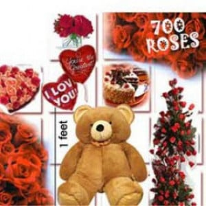 700 Roses Love Special - Rose Day Gifts Online