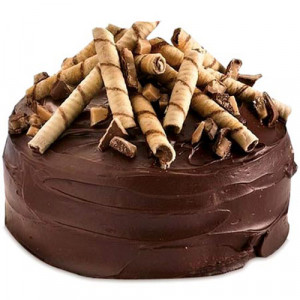 Five Star - Chocolate Ganache Cake - Birthday Cake Online Delivery - Send Chocolate Cakes Online