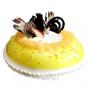 Five Star - Mango Cake - Birthday Cake Online Delivery - Send Five Star Cake Online
