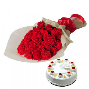 Sweet Moments - Flowers and Cake Online