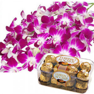 Orchid N Ferro - Hug Day Gifts Online