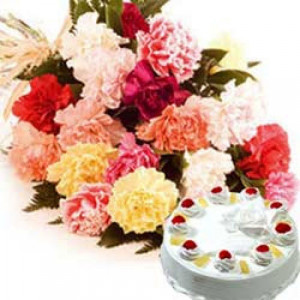 Wishes Love - Send Carnations Flowers Online