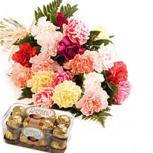 Carnation N Ferro - Send Carnations Flowers Online