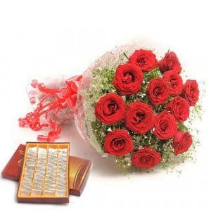 Sweets N Roses - Rose Day Gifts Online