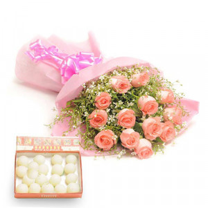 Sweet Surpirse - Flowers with Sweets Online
