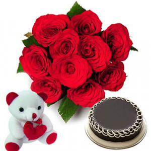 Love Treat - Flowers with Soft Toys online