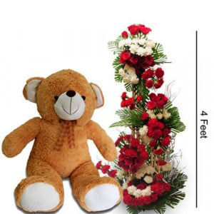 Pure Love - Flowers with Soft Toys online