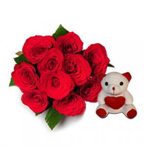My Beary Love - Flowers with Soft Toys online