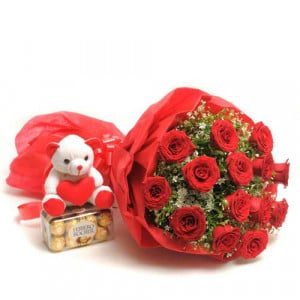 Classic Beauty - Flowers with Soft Toys online
