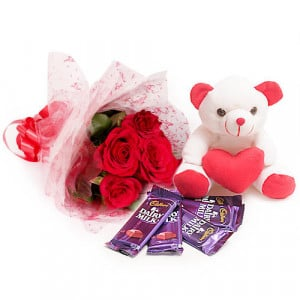 Flowers For You - Birthday Gifts - Send Birthday Gift Hampers Online
