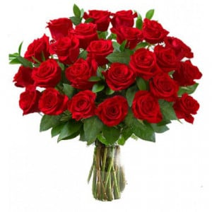 Feelings 40 Red Roses - Kiss Day Gifts Online