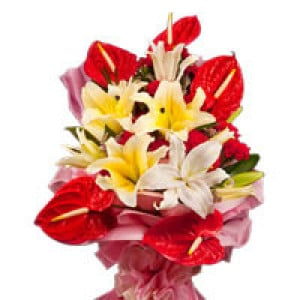 Delicate Princess - Online Flowers and Cake Delivery in Hyderabad