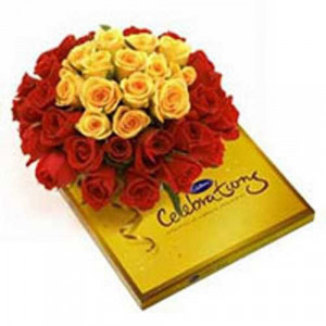 A Sweet Celebrations - Valentine's Day Flowers and Chocolates