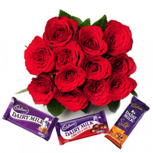 Close to my Heart - Valentine's Day Flowers and Chocolates