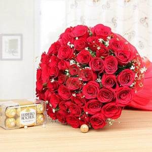 Love Begins - Send Flowers and Chocolates Online