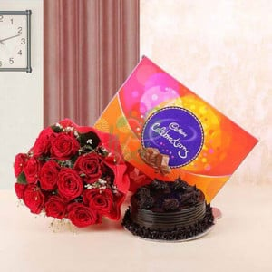 Madly Love - Flowers and Cake Online