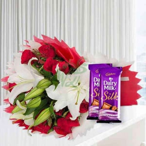 Love From The Wonderland - Valentine's Day Flowers and Chocolates