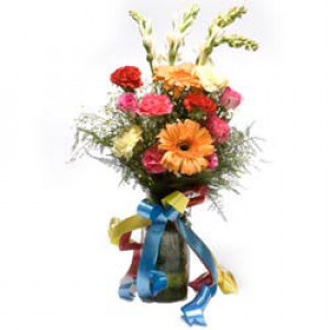 Bourbon Street - Glass Vase Arrangements