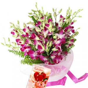 Exotic Expression - Glass Vase Arrangements