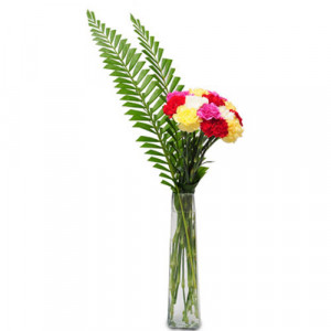 Best wishes arrangement - Glass Vase Arrangements