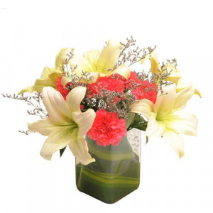 Contemporary Elegance - Send Lilies Online India