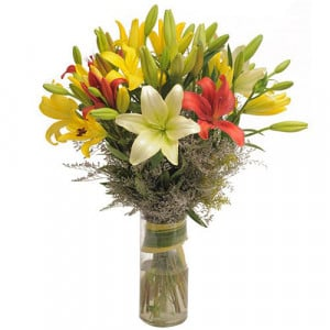 Mix Feelings - Send Lilies Online India