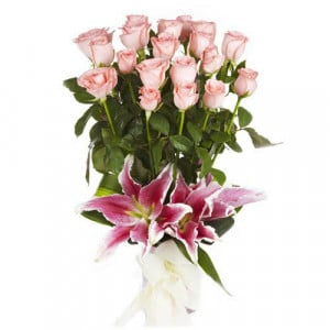 The Pure Passion - Send Lilies Online India