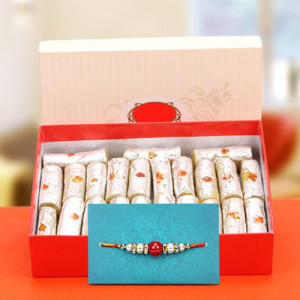 Exquisite Rakhi Hamper - Send Rakhi Gifts Online