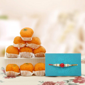Joyful Rakhi Hamper - Send Rakhi Gifts Online