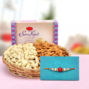 Hamper Of Sweet N Salty - Send Rakhi Gifts Online